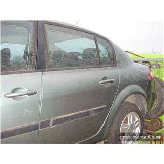 Запчасти На Renault Megane II (Рено Меган 2): Дверь Задняя Левая