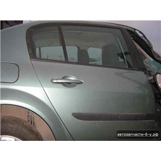 Запчасти На Renault Megane II (Рено Меган 2): Дверь Задняя Правая